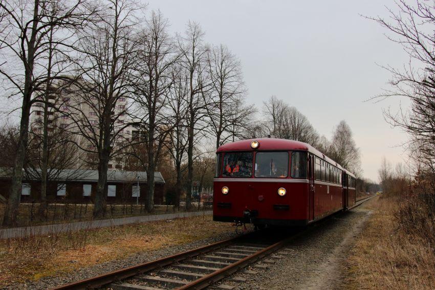 Schienenbuskreuzfahrt auf der Heidekrautbahn 2018