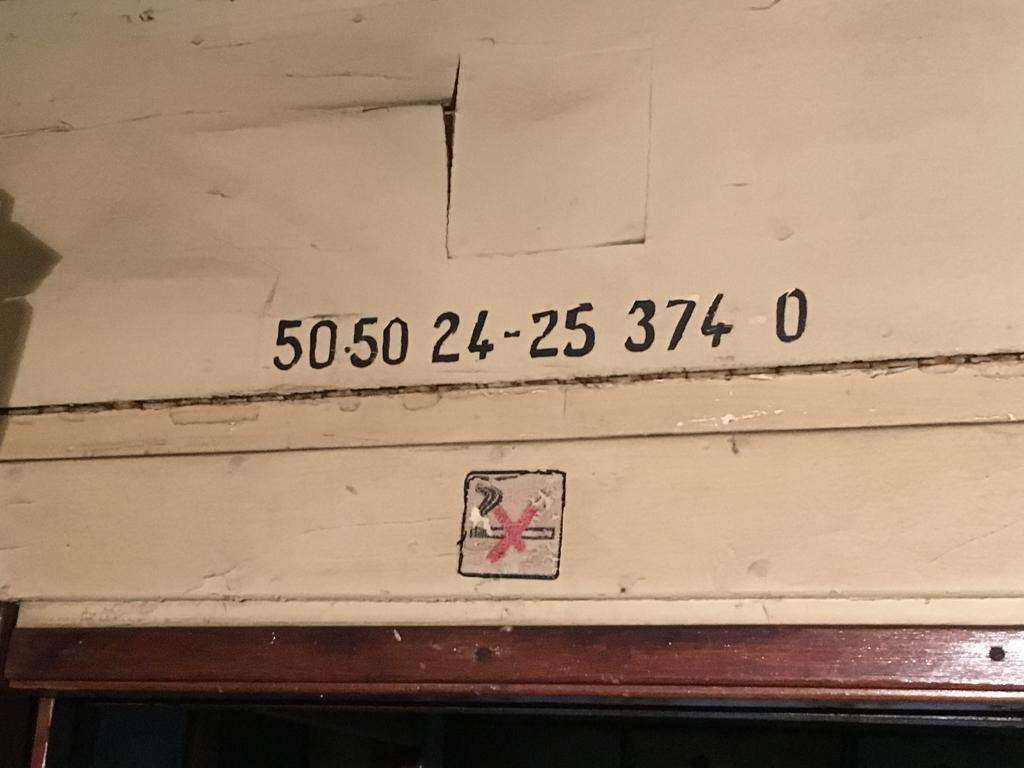 Wagennummer