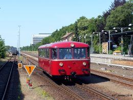 VT 95 der Berliner Eisenbahnfreunde am 9.6.2018 in Berlin-Lichterfelde West