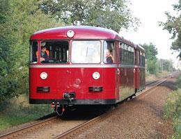 Historischer Schienenbus der Berliner Eisenbahnfreunde e. V.
