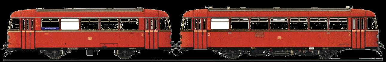 Zugsymbol BEF VT95 mit VB142