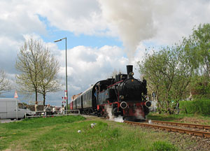 Dampfzug des Berliner Eisenbahnfreunde e. V.