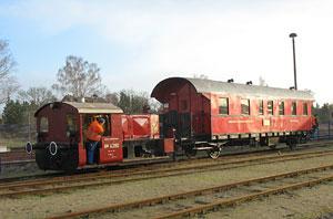 Wagen des Berliner Eisenbahnfreunde e. V.