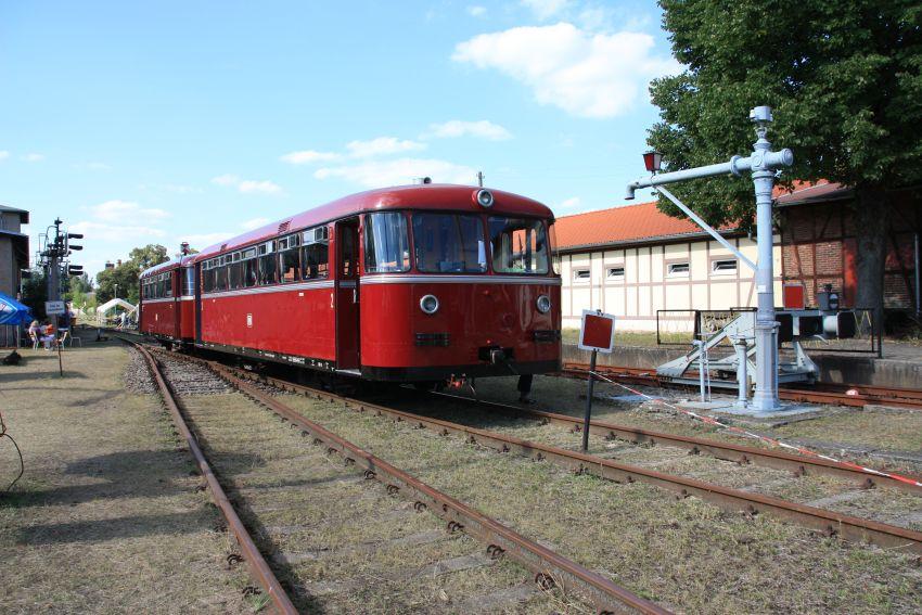 BEF-Schienenbusgarnitur 2015 in Rheinsberg