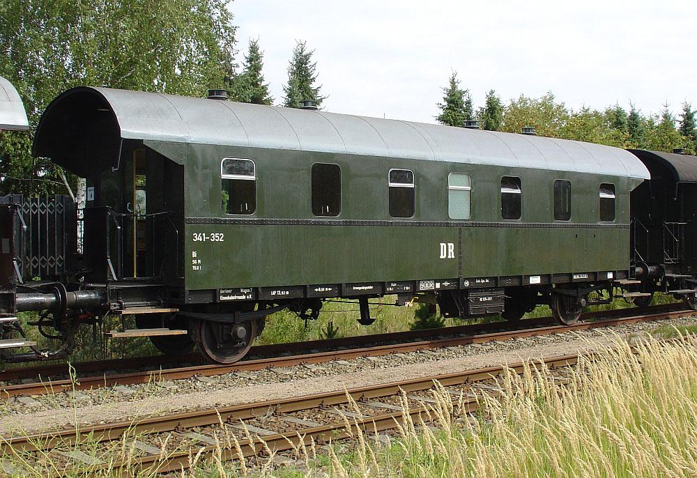 Wagen der Berliner Eisenbahnfreunde e. V.