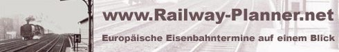 railway-planner.net - Link zur Website mit europäischen Eisenbahnterminen im Überblick