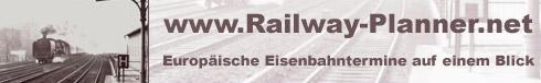 railway-planner.net - Link zur Website mit europäischen Eisenbahnterminen im Überblick