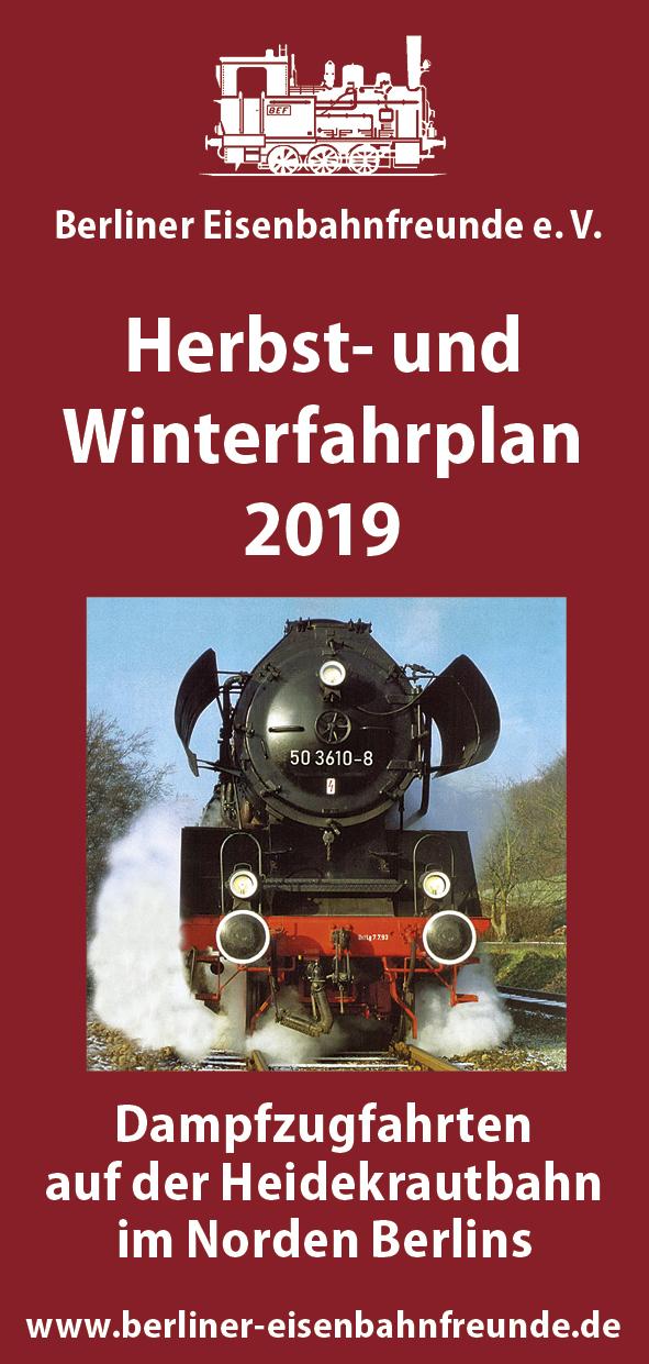 BEF Flyer Herbst-Winter 2019