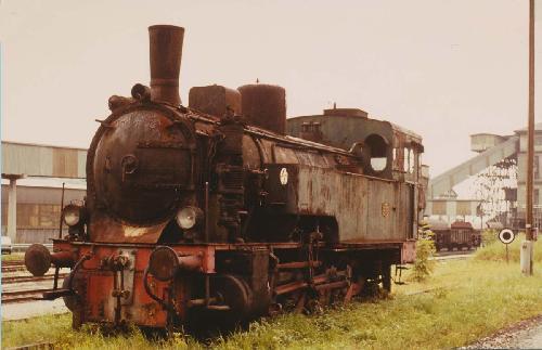 1980-Lok Hanomag in Ampflwang