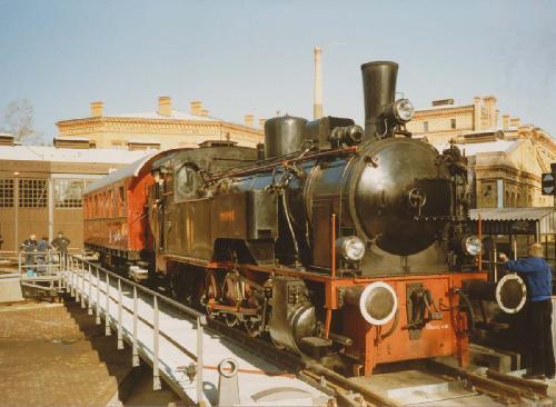 1988-Eröffnung zweiter Lokschuppen MVT