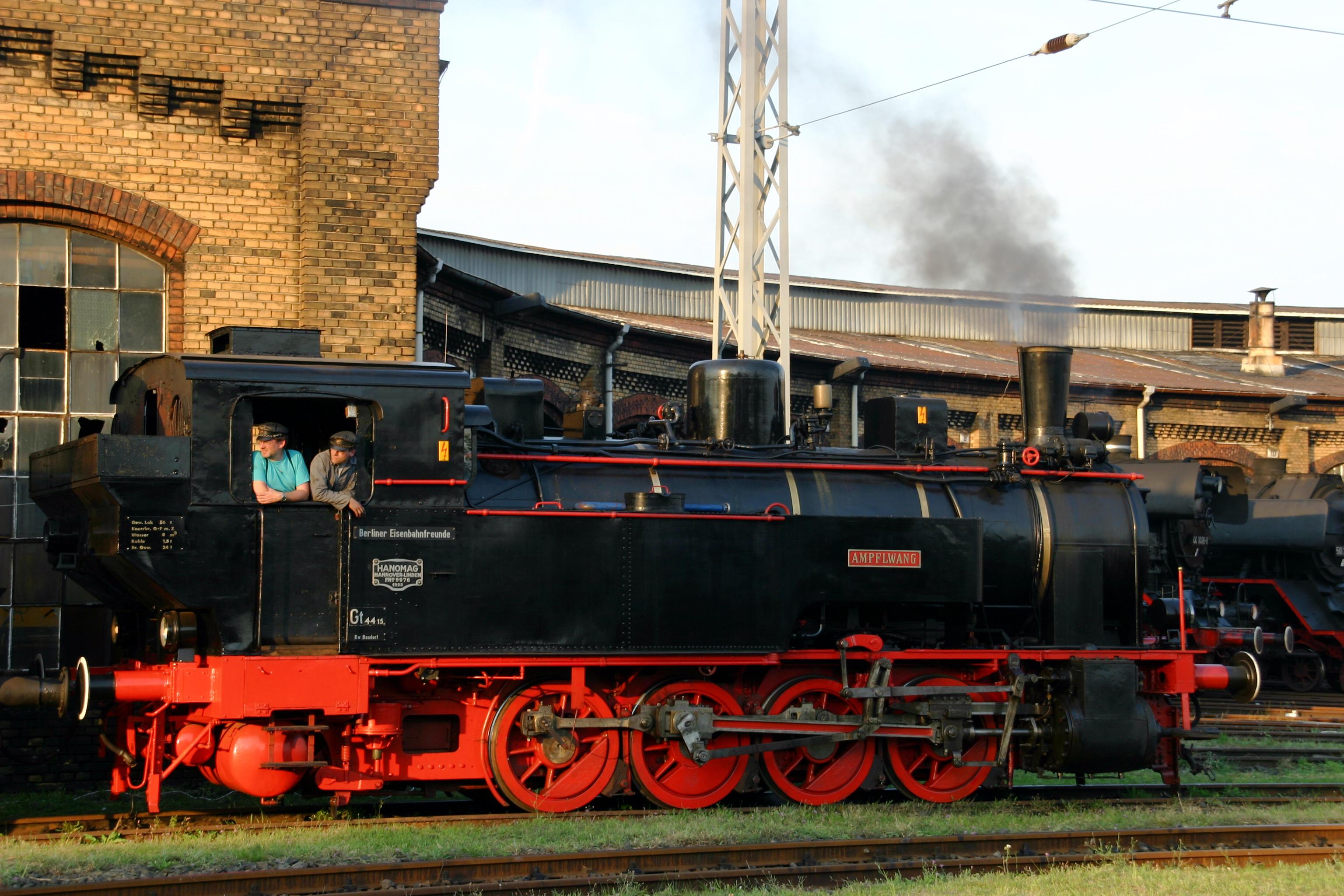 Berliner Eisenbahnfreunde E V Vereinshistorie